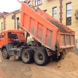 Поставки строительных материалов. Щебень, песок, ПГС, и тд. Быстро!, Новосибирск