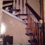Лестницы на металлокаркасе, сварные конструкции, обшивка!, Новосибирск