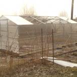 Теплицы-домики. Оранжереи.  Съемно-сдвижная крыша., Новосибирск