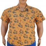 Большого размера мужская рубашка гавайка, Новосибирск