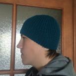 Мужская вязаная шапка, Новосибирск