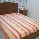 Двухспальная кровать и две прикроватные тумбочки, Новосибирск