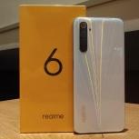 Realme 6 (8/128 GB), новый, гарантия 1 год, Новосибирск