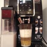 Почти новая кофемашина Delonghi ecam 350.55, Новосибирск