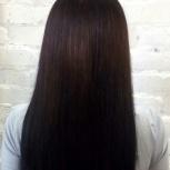 Кератиновое выпрямление волос, ботокс для волос, Новосибирск