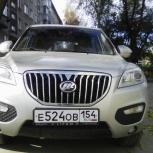 Аренда автомобиля Lifan x60 с водителем, Новосибирск