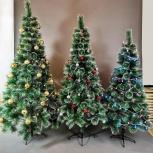 Пушистые искусственные ёлки новогодние с доставкой и подарком хит, Новосибирск