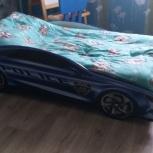 кровать-машина с матрасом, Новосибирск