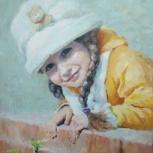 Детский портрет по фото, Новосибирск