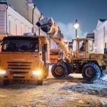 Уборка и вывоз снега  самосвалами, Новосибирск