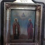 Избранные Святые, Илья Пророк и Николай Чудотворец, Новосибирск
