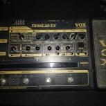 Продам ламповый гитарный процессор Vox tonelab EX, Новосибирск