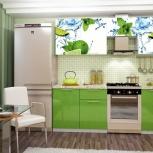 Продам кухонный гарнитур с фотопечатью, Новосибирск