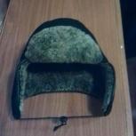 Продам шапку зимнюю, на мальчика, натуральная цигейка, Новосибирск