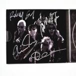 Подлинные автографы Scorpions 2011 год, Новосибирск