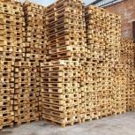 Продам поддоны деревянные б/у, Новосибирск