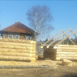 Продам 2 сруба на баню красный лес, Новосибирск