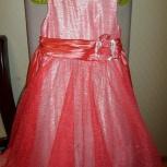 Нарядное платье, кофточка и туфельки, 110-116 см, Новосибирск