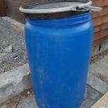 Продаем две емкости для воды 200л, бу, Новосибирск