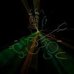 Лазерное шоу на 23 февраля, Новосибирск