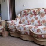 Мягкая мебель в комплекте:  диван + 2 кресла, Новосибирск