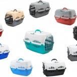 Переноска пластиковая новая для кошек и собак, Новосибирск