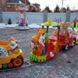 Аттракцион детская железная дорога, Новосибирск