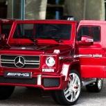 Mercedes-Benz G63 - детский электромобиль - Лицензия, Новосибирск