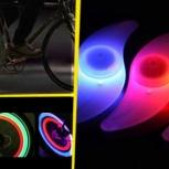 LED фонарик - светлячок на колесо велосипеда, Новосибирск