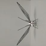 Статуэтка бабочки из металла, Новосибирск