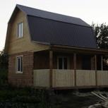 Строим срубы, дома, бани, дачи, дворовые постройки, а также под ключ, Новосибирск