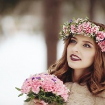 Свадебный образ для невесты макияж и прическа визажист стилист, Новосибирск