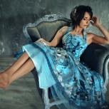 Дизайнерское платье выпускной, свадьбу, торжество, Новосибирск