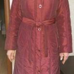 Продам демисезонное пальто с капюшоном., Новосибирск