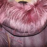 Продам дубленку женскую с капюшоном., Новосибирск