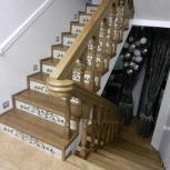 Лестницы из массива, Новосибирск