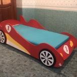Кровать детская в виде машинки, Новосибирск