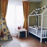 кровать домик, Новосибирск