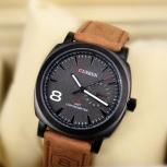 Стильные мужские кварцевые часы в модном стиле smart-casual!, Новосибирск