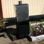 Банная печь 8мм, бак 2 нержавейка, Новосибирск