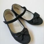 Туфли школьные, бу для дев р.33, нат.кожа,Panda (KDX), Новосибирск