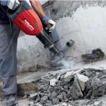Демонтаж стен снос зданий спец техника, Новосибирск