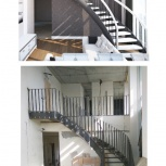 Дизайнерские лестницы. Дерево, металл, стекло, бетон., Новосибирск