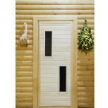 Изготавливаем двери для бани, Новосибирск