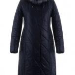 Женское зимнее пальто , воротник чернобурка 54 размер, Новосибирск