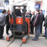 Обучение водителей погрузчика, Новосибирск
