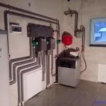 Монтаж отопления, водопровода, водяного тёплого пола, газового котла., Новосибирск
