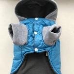 Куртка зимняя жилет тёплый низ на собаку размер S, Новосибирск