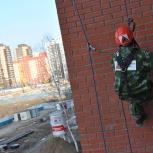 Высотные работы, промышленный альпинизм. Сброс снега! Все допуски!, Новосибирск