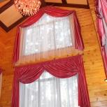 Шторы для мансардных и высоких окон, римские, японские шторы, Новосибирск